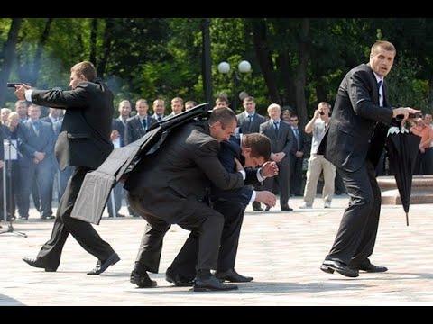 ОХРАНА Трампа Путина Обамы Меркель и Порошенко Служба безопасности ГЛАВ ГОСУДАРСТВ