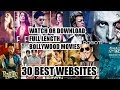 Watch Or Download Free Bollywood Movies With Any Of These 30 Websites