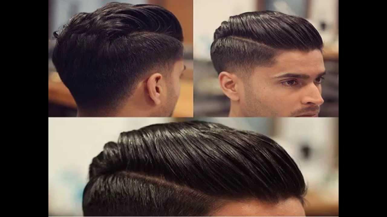 pomade hairstyle men short