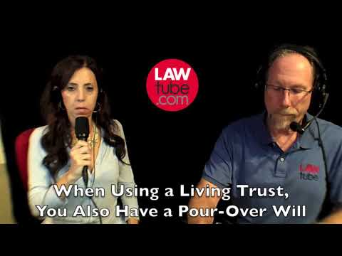 Do you need a will with a living trust?