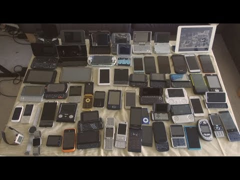 Retro Phone/Messenger/PMP/Tablet Collection overview (ALL 70+ devices!)