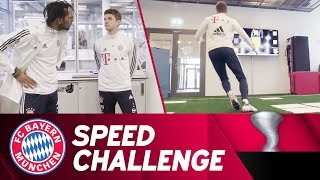 Thomas Müller vs. COPA90 X adidas | FC Bayern Speed Challenge