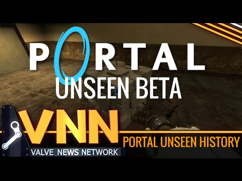 Inside the Development of Portal: Unseen Concepts, Levels, and Footage