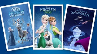 Frozen Tales Frozen Fever Olaf Adventure Once upon a Snowman tamil dubbed animation short films