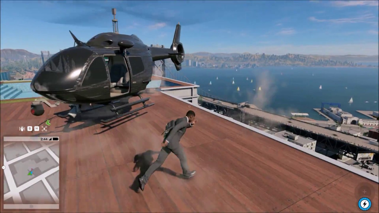 Helicopter Watch Dogs