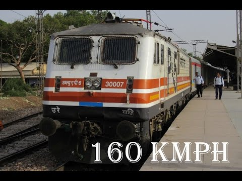 160 Kmph , ACCIDENT : GATIMAAN EXPRESS Journey Compilation !!