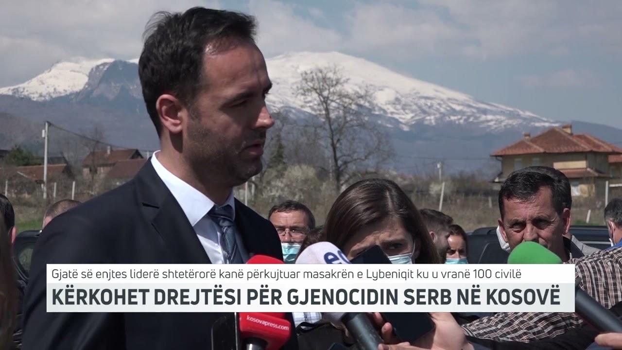 KËRKOHET DREJTËSI PËR GJENOCIDIN SERB NË KOSOVË