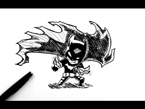 Comment dessiner batman chibi youtube - Dessiner batman ...