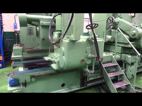 Churchill TWA Roll Grinding Machine In Our Warehouse In Oldham, Greater Manchester, England