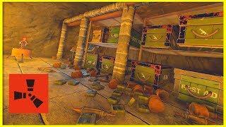 Rust Raids: GETTING PAST THE CAVE TRAPS | **PROFIT**