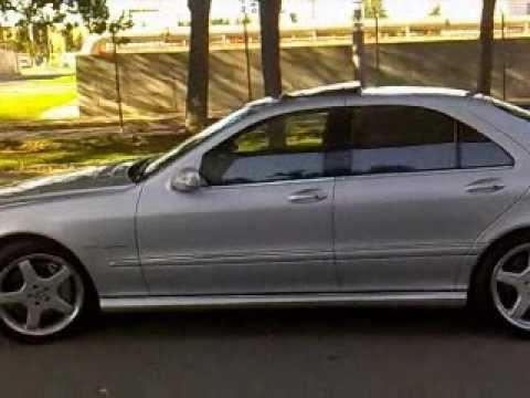 Mercedes s55 amg v8 kompressor youtube for Mercedes benz v8 kompressor