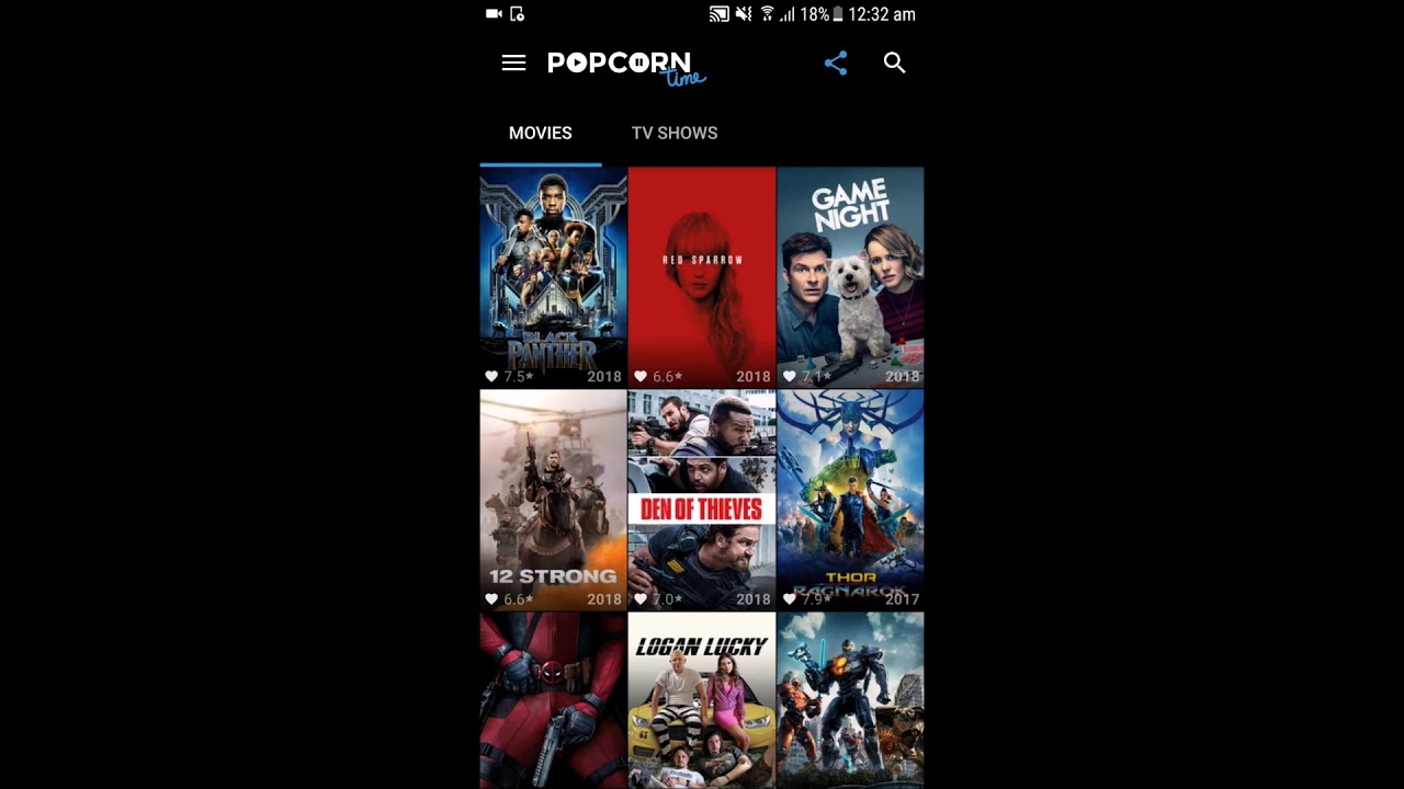 popcorn time apk download 2018 for android