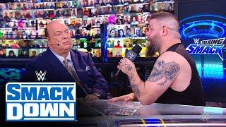 Kevin Owens' tense exchange with Paul Heyman: Talking Smack, Jan. 16, 2021
