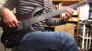 Mick Karn Bass Cover Medley Part 2 with TABS