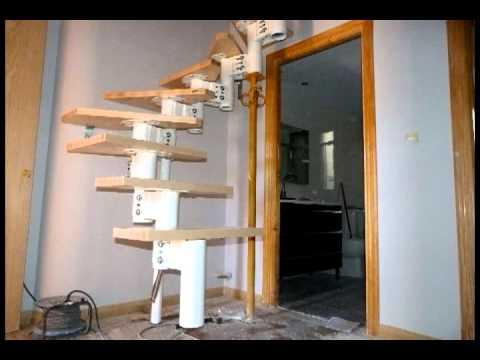 Montaje escalera prefabricada youtube - Modelos de escaleras de madera ...