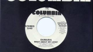 Damaris - What About My Love.wmv