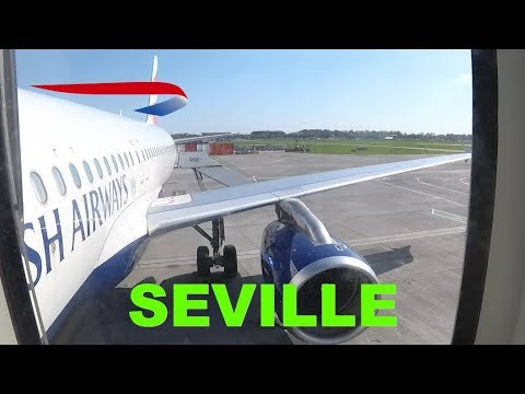 THE BEAUTIFUL SOUTH: Business class (Club Europe) London Gatwick to Seville with BA flight review