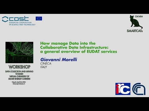 How manage Data into the Collaborative Data Infrastructure: a general overview of EUDAT services