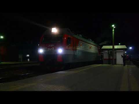 Поезд Победы на станции Балашов-Пассажирский, 23.04.2019