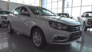 Фото с обложки 2018 Lada Vesta Cng. In Depth Tour.