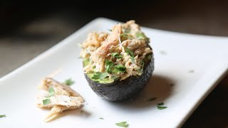 Crab & Avocado Stuffed Avocado Recipe By Sam The Cooking Guy