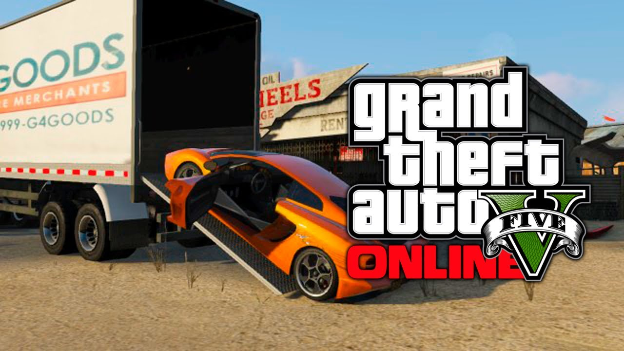 GTA 5 Online: How To Store Cars & Vehicles With Truck Trailers! (GTA ...