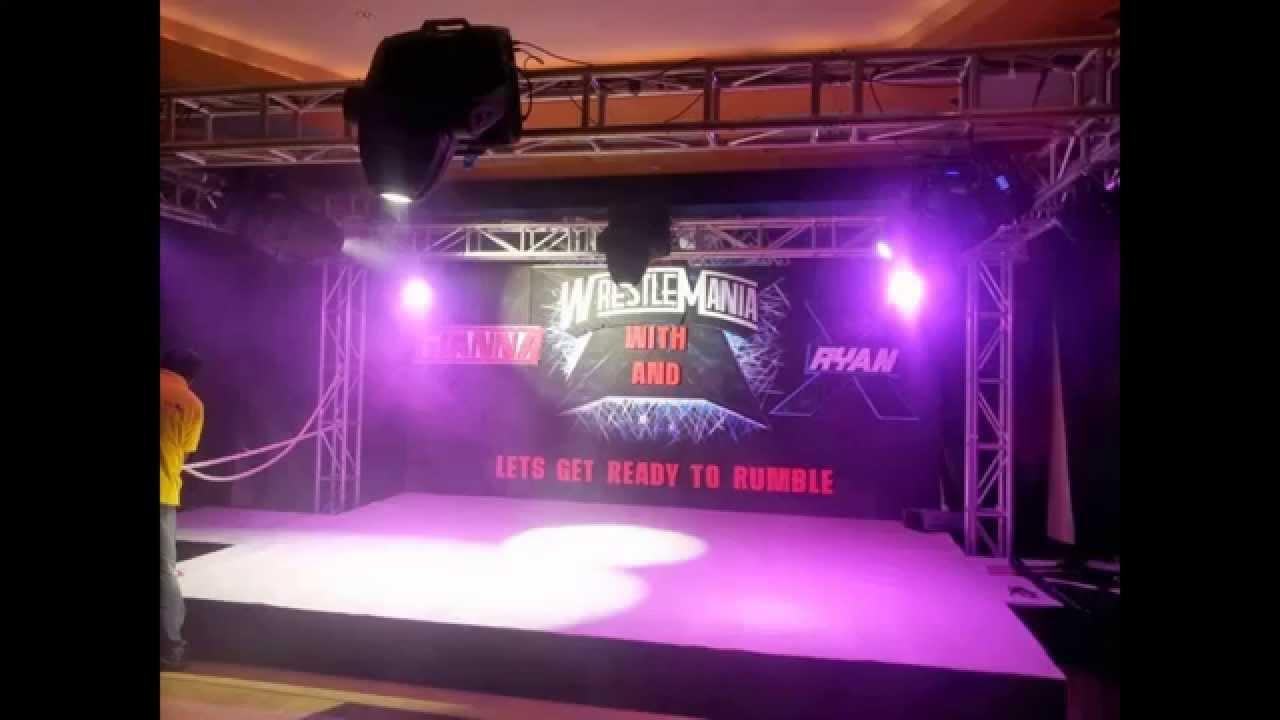 truss kuwait truss system stage truss events party event planner lights sound system rental