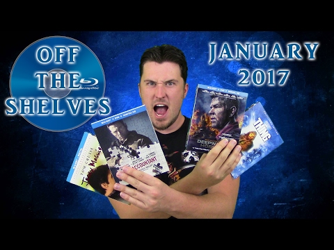 Off The Shelves - January 2017 - Bluray/DVD Collection Update