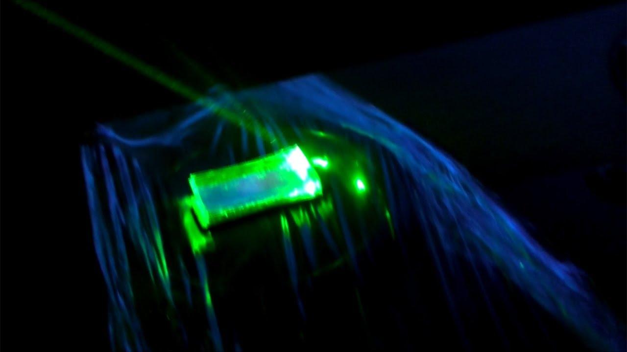 Лазер шоу своими руками