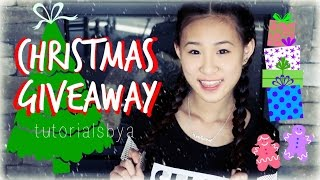 RAINBOW LOOM CHRISTMAS GIVEAWAY!! | TutorialsByA Thumbnail