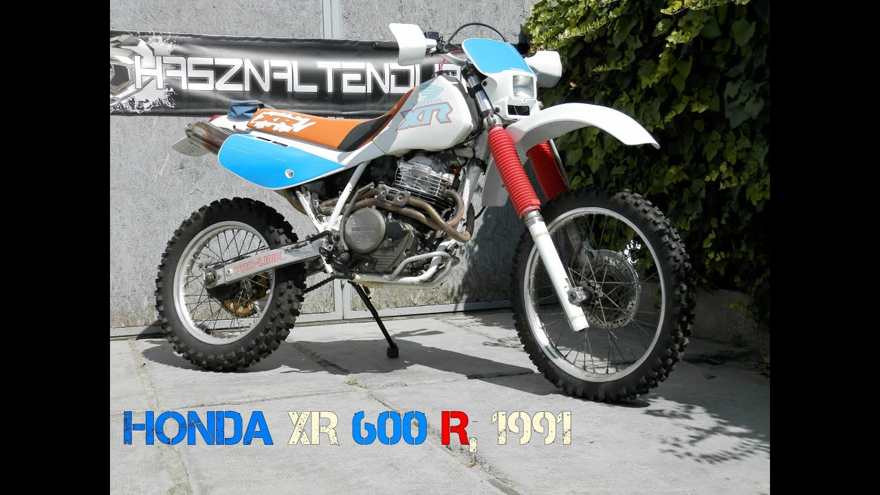 honda xr 600 r 1991 youtube. Black Bedroom Furniture Sets. Home Design Ideas