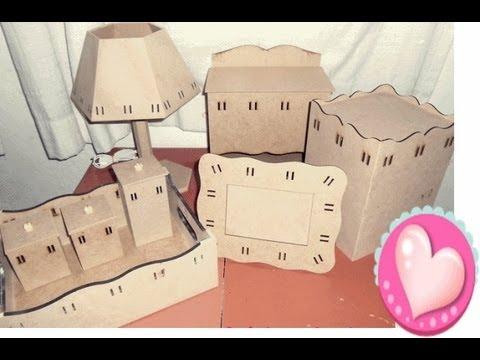 213d30a2d Pintando kit higiene (MDF)!!! - YouTube