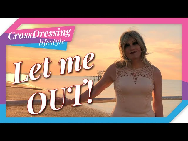 Crossdressing Outfit Of The Day | Let Me OUT A Real Brighton Bell at sun rise.
