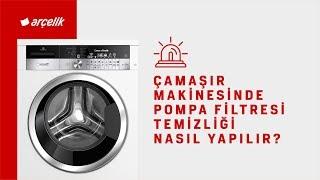 Çamaşır Makinesinde Pompa Filtresi Temizliği Nasıl Yapılır?