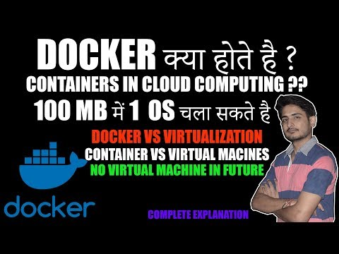 What Is Docker ? Containers In Cloud Computing 🔥 End Of Virtual Machines 😱