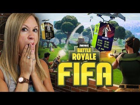 *NEW SERIES* FORTNITE FIFA!! FIFA 18 ULTIMATE TEAM!!