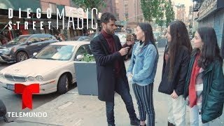 Diego Street Magic | Diego Knows Your Phone Password | Telemundo English