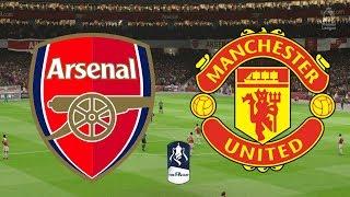 FA Cup 2019 Round 4 - Arsenal Vs Manchester United - 25/01/19 - FIFA 19