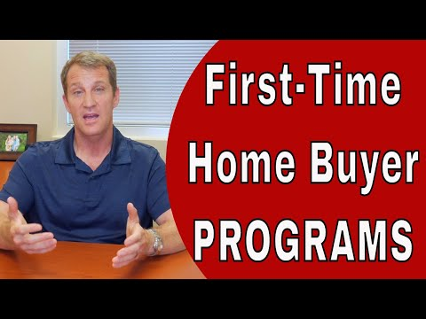 5 First Time Home Buyer Programs