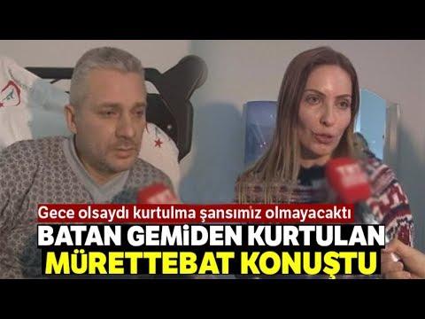 """Karadeniz'de Batan Gemiden Kurtulan Mürettebat Konuştu: """"Gemi 5 Dakikada Batmaya Başladı"""""""