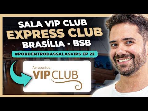 Melhor Sala VIP de Brasília? | VIP Club Express | Por Dentro da Sala VIP | Norton Reveno