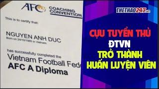 Cựu tuyển thủ ĐTVN trở thành Huấn Luyện Viên V-League