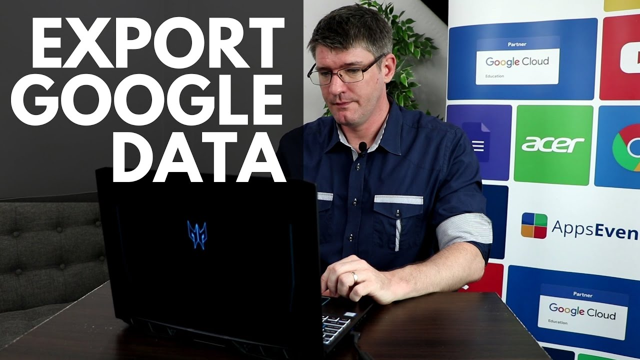 Download Download or Export your Google Data - How to use Google Takeout  | Tips & Tricks Episode 46