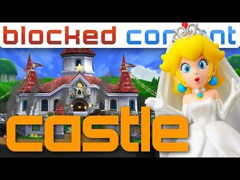 Princess Peach S Castle In Super Mario Odyssey Blocked