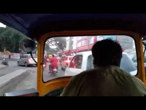 Bangalore Auto-Rickshaw intersection experience