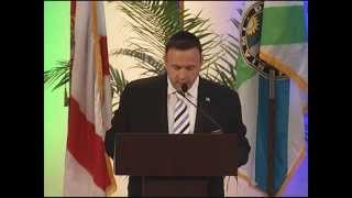 State of the County Address, 2015, Miami Dade, FL. Invocation by Chaplain Mark Rosenberg