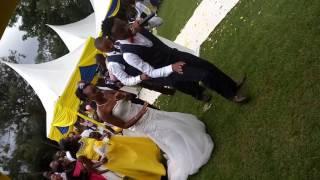 DJ Lebbz  Perfomance at a wedding  evergreen gardens  2