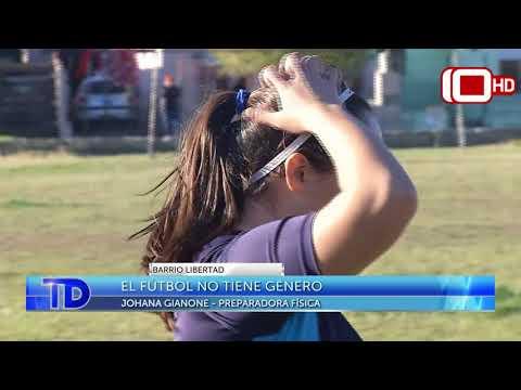 No tiene género: Encuentro barrial de fútbol femenino