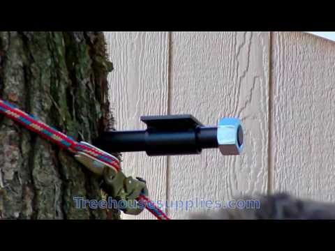 How to Install a Treehouse Attachment Bolt (TAB)  – Installation Video
