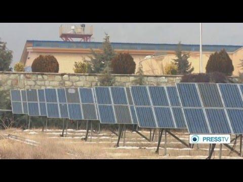 International Renewable Energy Exhibition in Tehran